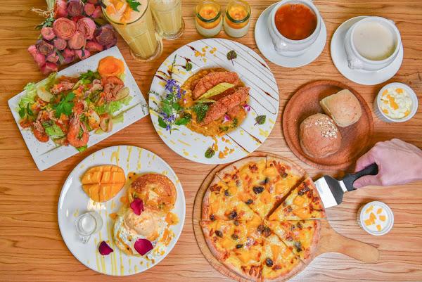 米蘭街義式小館:台中西屯區美食-芒果也能做成披薩和燉飯!季節限定商品,沒吃到就要等明年啦!