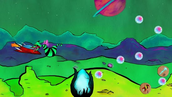Reality Runner - side-scrolling spaceship shooter - náhled