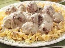 Meatballs Stroganoff Recipe