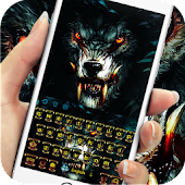 Roar blood wolf keyboard