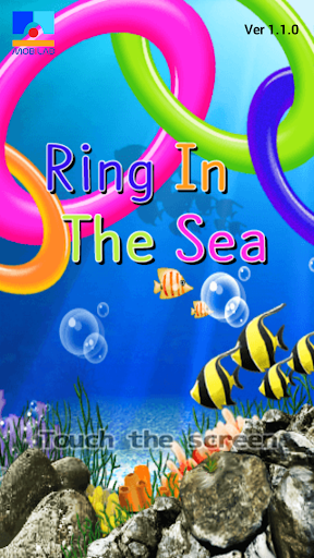 Ring in the sea