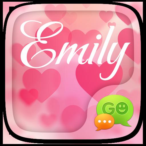 GO SMS EMILY THEME