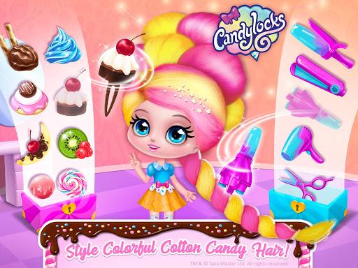 Candylocks Hair Salon - Style Cotton Candy Hair  Wallpaper 15