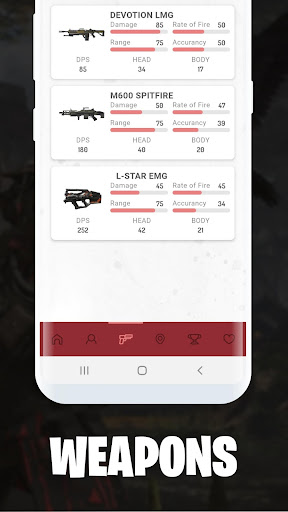 Stats for APEX Legends - Weapons, Map, Stickers screenshots 4