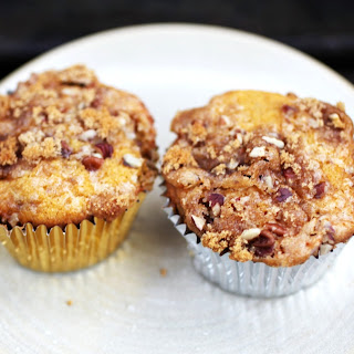 Butternut-Pecan Muffins with Brown Sugar Crumble