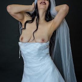 happy bride by Shawn Crowley - Nudes & Boudoir Artistic Nude