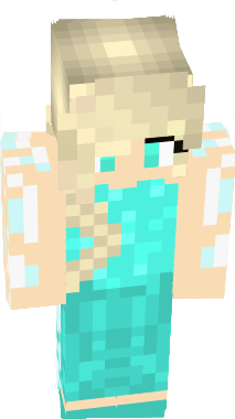 Elsa Nova Skin - Skin para minecraft pe frozen