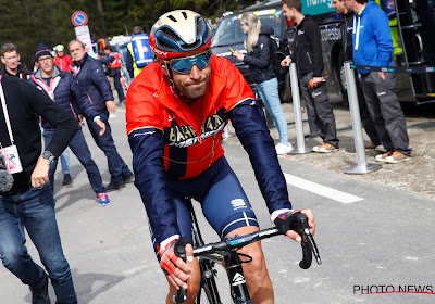 Vincenzo Nibali is nog steeds enorm gretig