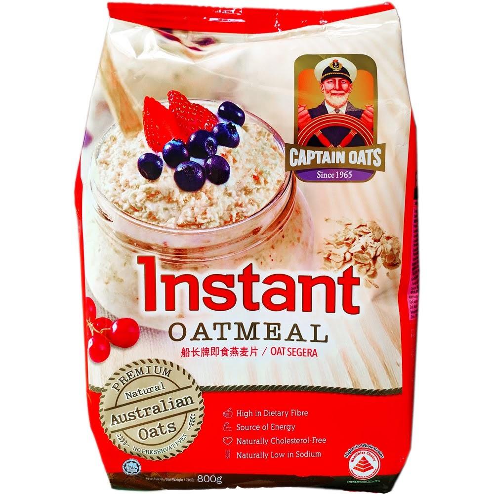 Yến mạch úc captain oats 800g Yến mạch Captain Oats và hành trình phát triển
