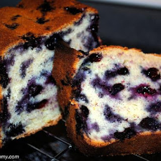 Lemony Blueberry Banana Bread