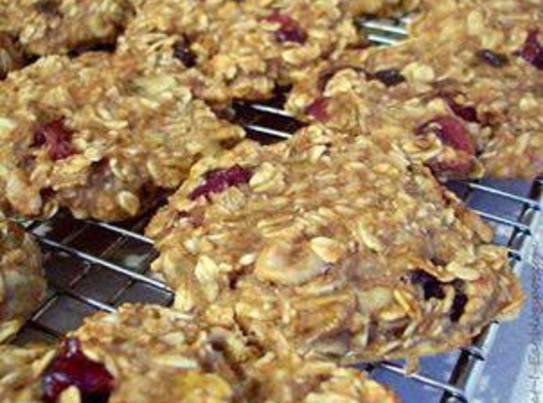 Cranapple Oatmeal Smushes Recipe