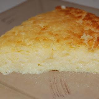 Lemon and Coconut Impossible Pie