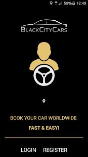 Black City Cars Driver - náhled