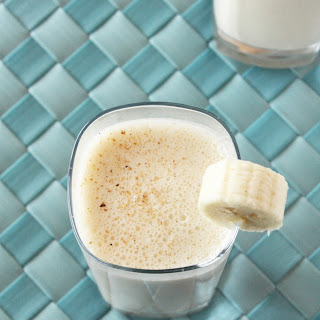 Spiked Caramelized Banana Milkshake.