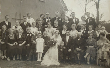 Photo: Ślub Heleny Roth - wnuczki Barona von Roth.