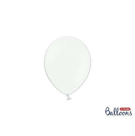 Ballonger 12 cm - Vit pastell