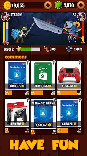 LootMaster: Idle Incremental Clicker RPG Prizes apkdebit screenshots 5