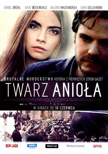 Przód ulotki filmu 'Twarz Anioła'