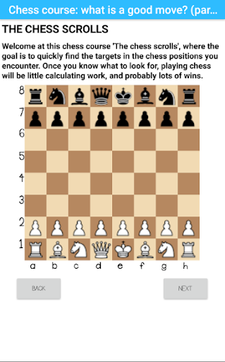 Chess course: find great moves (part 1) 0.13beta {cheat|hack|gameplay|apk mod|resources generator} 1