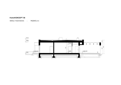 Koncept-58 - Przekrój