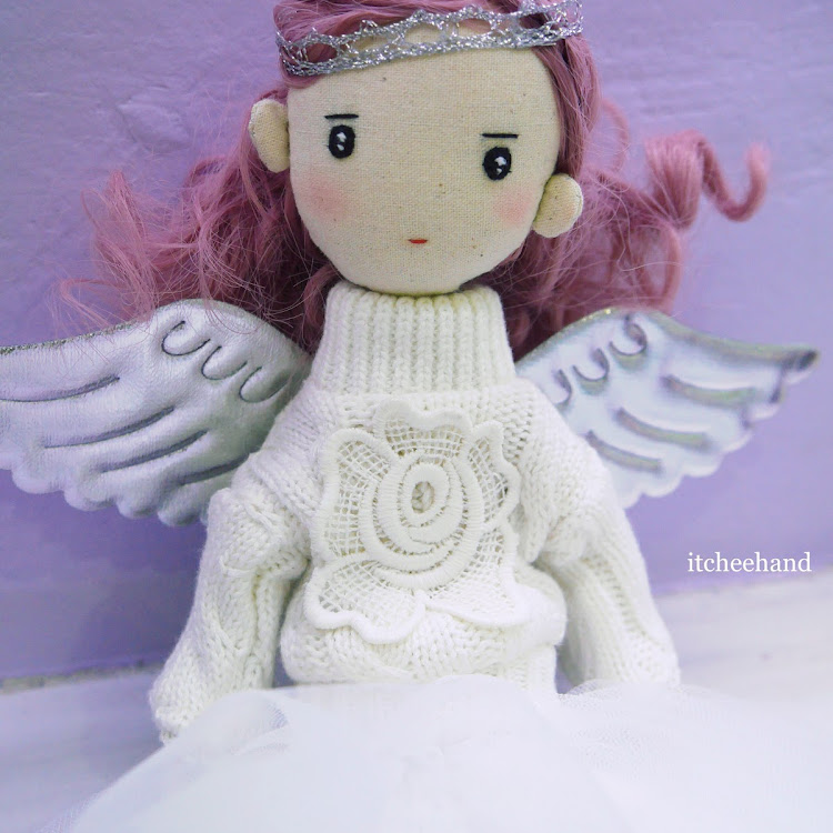 Handmade Doll- Lavender aka Angel Girl by Itcheehand Enterprise