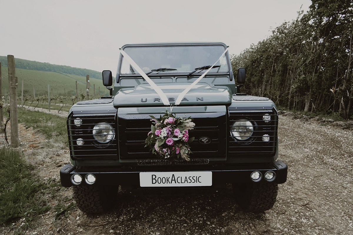 Land Rover Defender 90 Hire Codicote