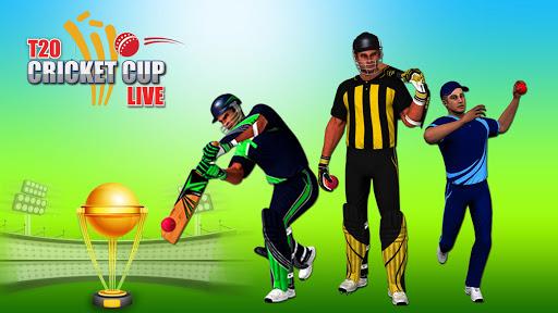 T20 Cricket Game 2019: Live Sports Play 1.05 screenshots 1