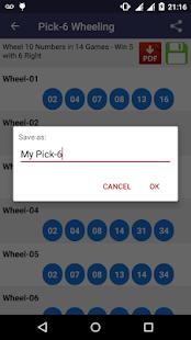 Lottery Wheeling - náhled