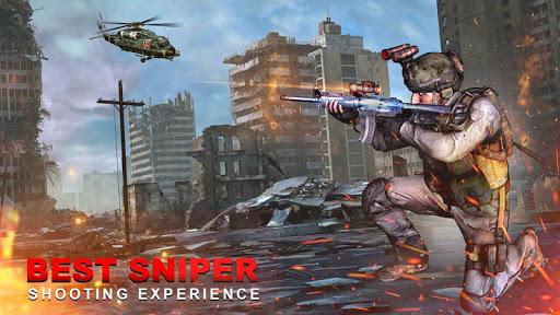Code Triche Mountain Sniper Shooter Cover Agent APK MOD screenshots 4