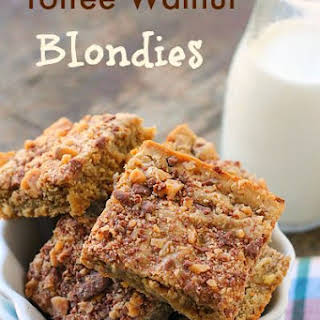 Toffee Walnut Blondies.