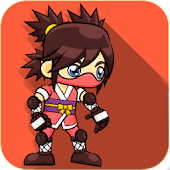 Ninja Girl Gravity Game
