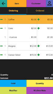 Restaurant POS Point of Sale- screenshot thumbnail
