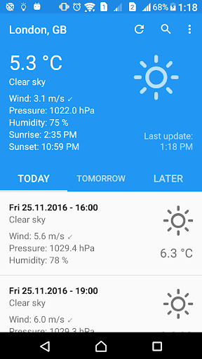Weather Forecast fast screenshot 1