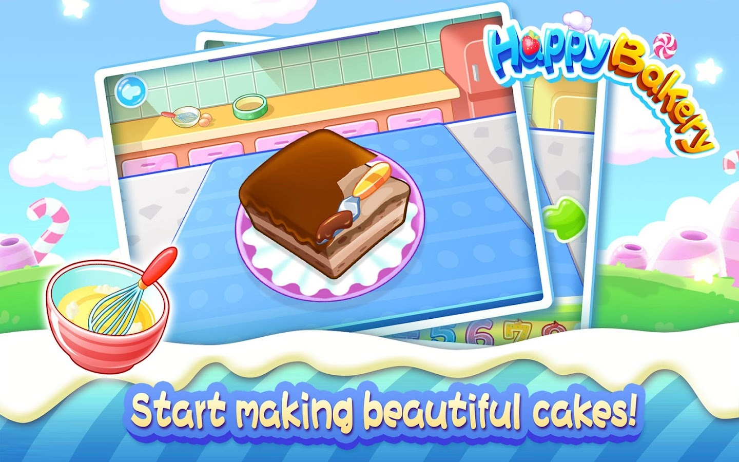 Happy Bakery Game Anak Lucu Apl Android Di Google Play