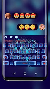 Blue Fire Keyboard for Martin garrix - náhled