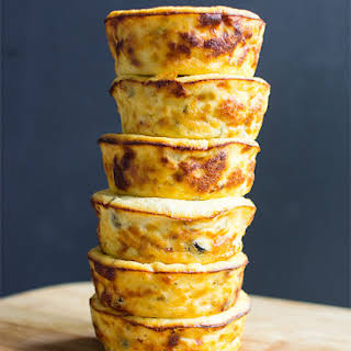 Mediterranean Baked Ricotta Muffins.