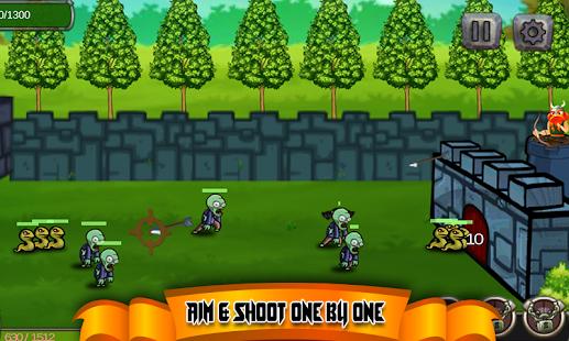 Monster Zombies Defender - Defense Games - náhled