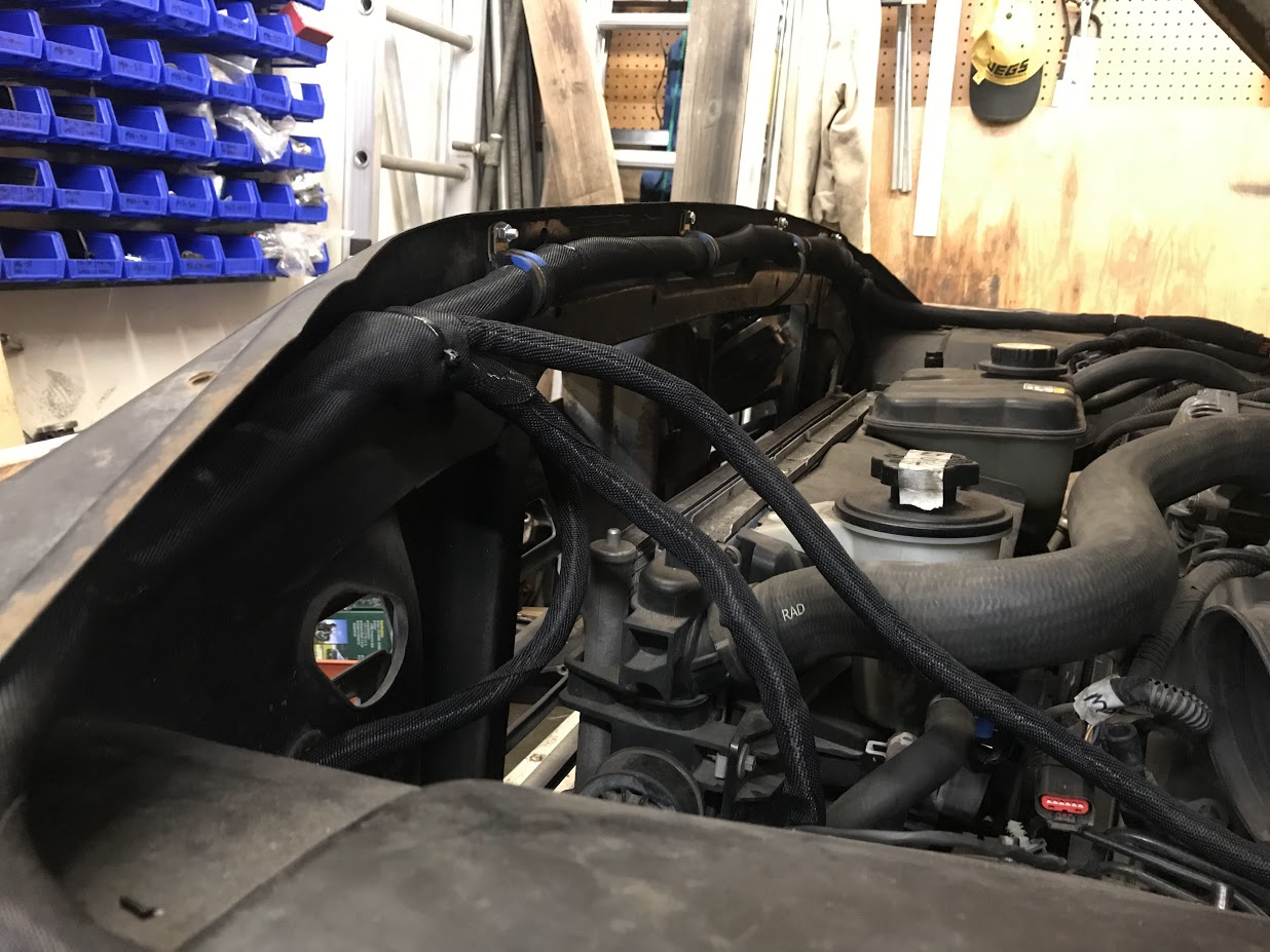 1964 Viccup Build Page 5 Builds And Project Cars Forum Fuse Box Clamps The Headlights Are Controlled By Switch In Cab But Actual Current Switching Is Done A Small Littelfuse Relay Panel That We Installed