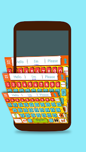 ai.keyboard Comic Book theme screenshot 2