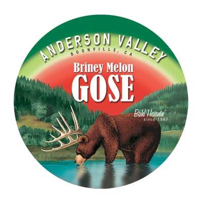 Logo of Anderson Valley Briney Melon Gose
