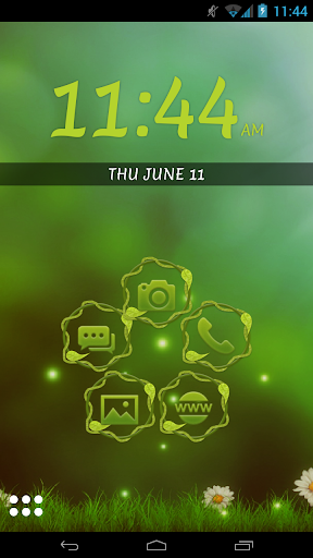 Smart Launcher Nature HD Theme