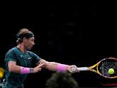 Rafael Nadal en Novak Djokovic konden hun tweede groepswedstrijd niet winnen op de ATP Finals