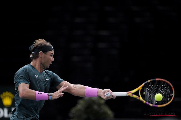 Ook dit jaar wint Nadal ATP-toernooi van Parijs niet: Spanjaard verslikt zich in nummer 7 van de wereld