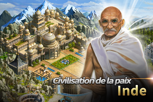 Civilization War - Battle Strategy War Game  captures d'u00e9cran 2