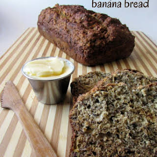 Sugar-fee Banana Bread.