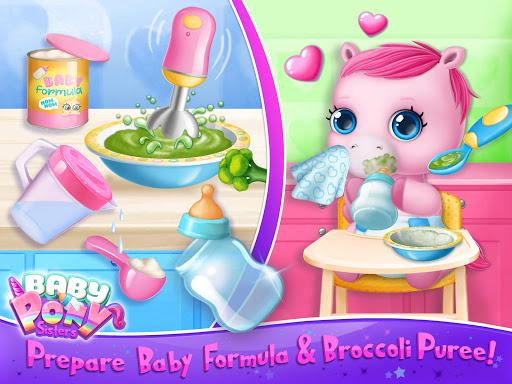 Baby Pony Sisters - Virtual Pet Care & Horse Nanny 5.0.14002 screenshots 12