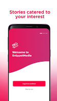 screenshot of SnippetMedia - Philippine News, Videos & Rewards