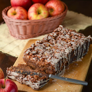 Cinnamon Glazed Harvest Apple Bread