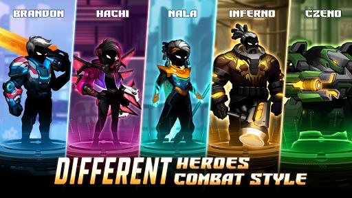 Cyber Fighters: Shadow Legends in Cyberpunk City 0.6.29 screenshots 4
