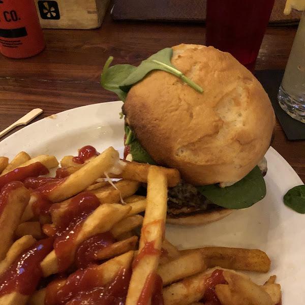 Cali burger and fries!
